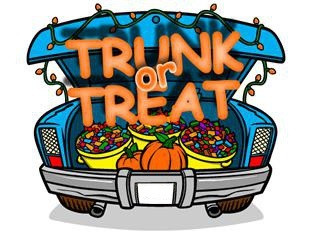 Trunk or Treat! Free Fun on 10/27/18 at 3:00 PM