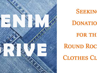 Denim Drive This Week!
