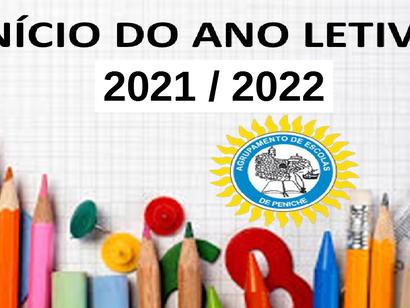 Reuniões com Encarregados de Educação e Receção aos alunos 2021/2022