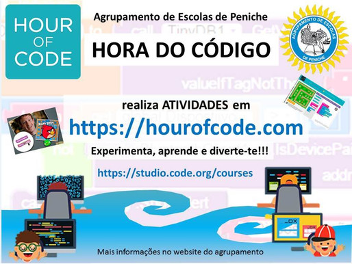 Hora do Código 2020 #hourofcode