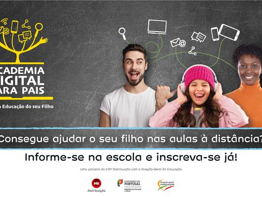 Academia Digital para Pais - alunos oferecem formação gratuita a Pais e Encarregados de Educação