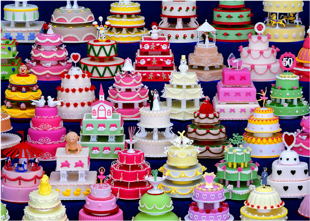 CAKE 2 (Limited Edition of 10 / Foto on Paper / 80 x 60 cm)