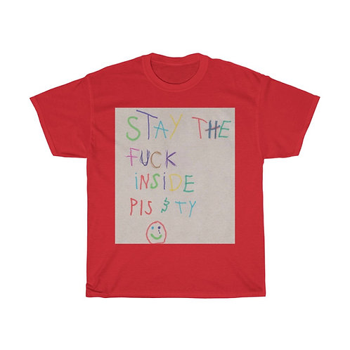 Amber Asaly Stay the F*ck Inside Awareness shirt