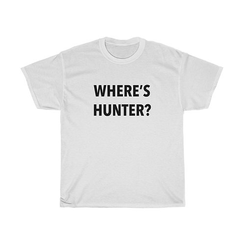 Where's Hunter? Shirt