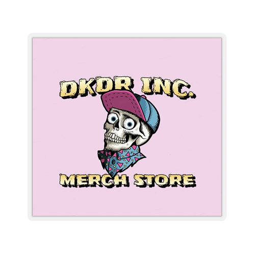 DKDR Inc. Skull Stickers