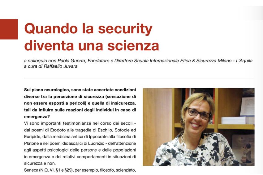 Security & Scienza