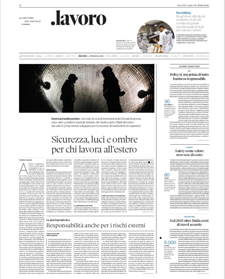 Travel Risk - Sole24