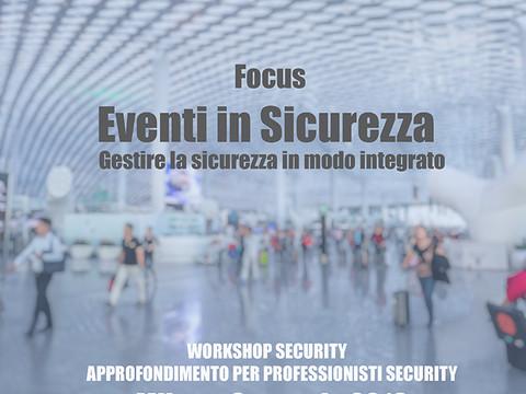 La Sicurezza degli Eventi