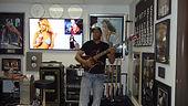 Skyler Lexx in Studio A at Famous Music Studios