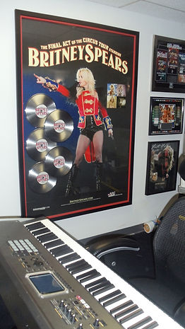 Skyler Lexx Studio B at Famous Music Studios