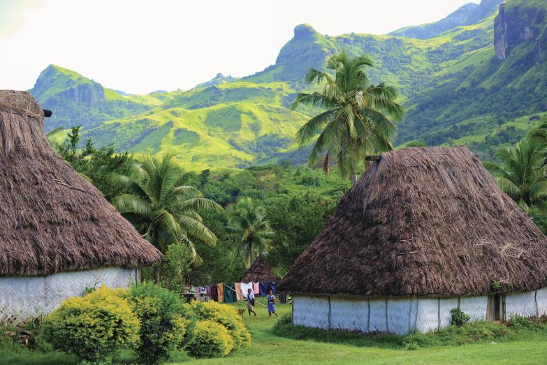 Fijian local village