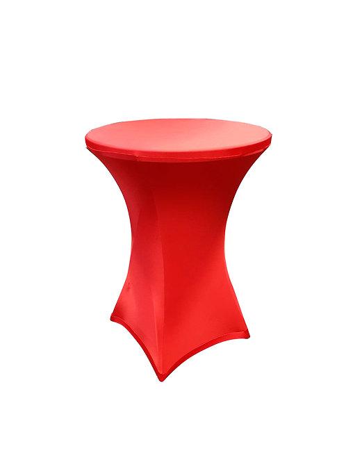 Чехол для банкетного стола. Красный