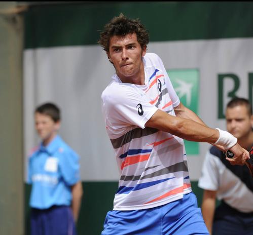 Théo Fournerie à Roland Garros 2014