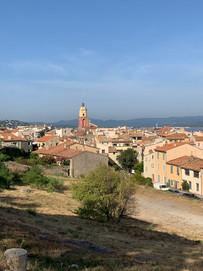 Vue depuis la Citadelle de St Tropez