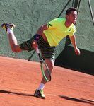 Théo Fournerie à Roland Garros 2013