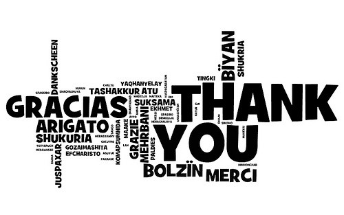 Knowing your clients appreciate your business!