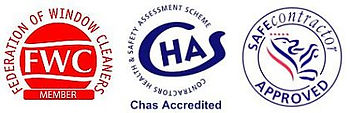 Chas Accreditated Window Cleaning Company, Safe Contractor Approved Window Cleaning