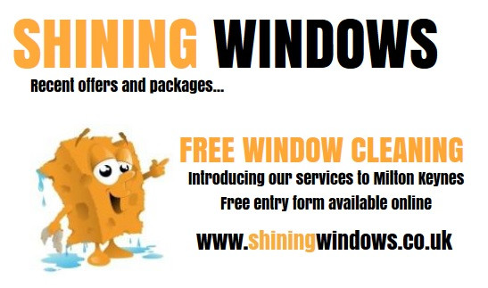 Free Window Cleaning Milton Keynes Competition is Live