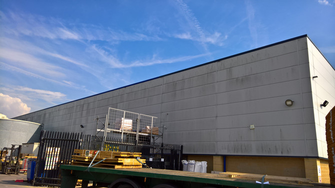 Commercial Cladding Cleaning