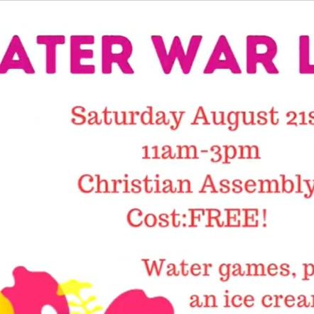 Water Wars!