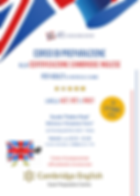 Locandina Corso Certificazioni Adulti (p