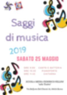 Saggi di Musica 2019