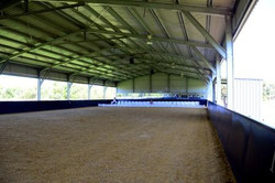 Our arena waiting for the opening