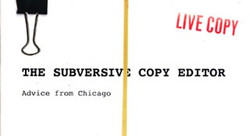 The Subversive Copy Editor Blog