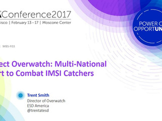 RSA Conferences 2016 and 2017