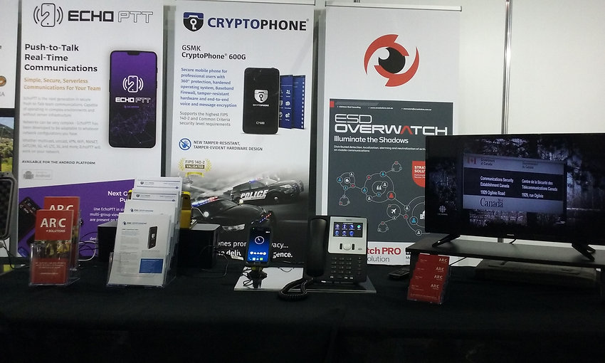 Cryptophone CP500i mobile and Cryptophone IP19 deskphone