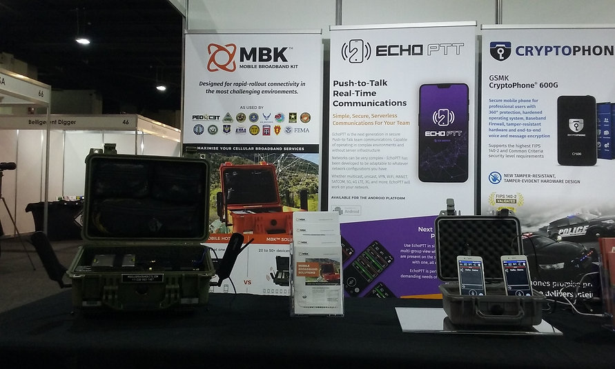 Moble Broadband Kit MBK and EchoPTT push to talk for Android