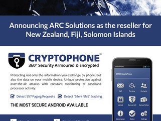 ARC Solutions - ESD America's Cryptophone reseller for NZ, Fiji, Solomon Islands