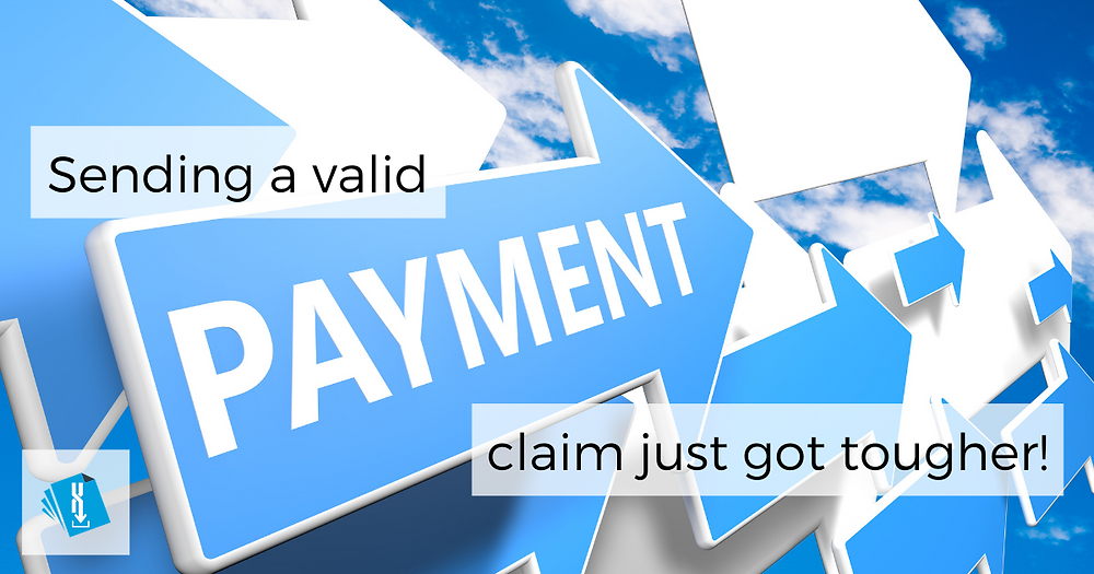 Sending a valid payment claim just got tougher! An article by Aitchison Reid Building and Construction Lawyers, December 2019.