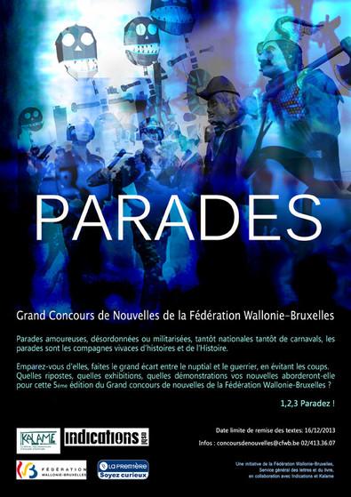 affiche concours parades