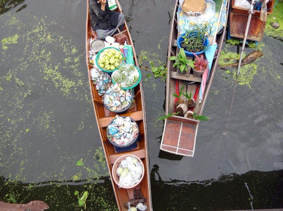 Amphawa-Tha-Kha-Floating-Market-Overhead