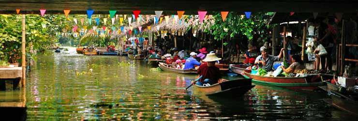 Khlong Lat Mayom Floating Market1