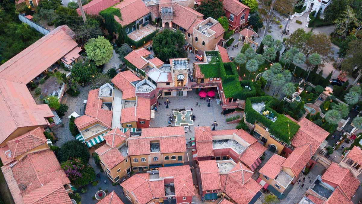 Piazza-Palio-Ariel-View-Khao-Yai-Itinera