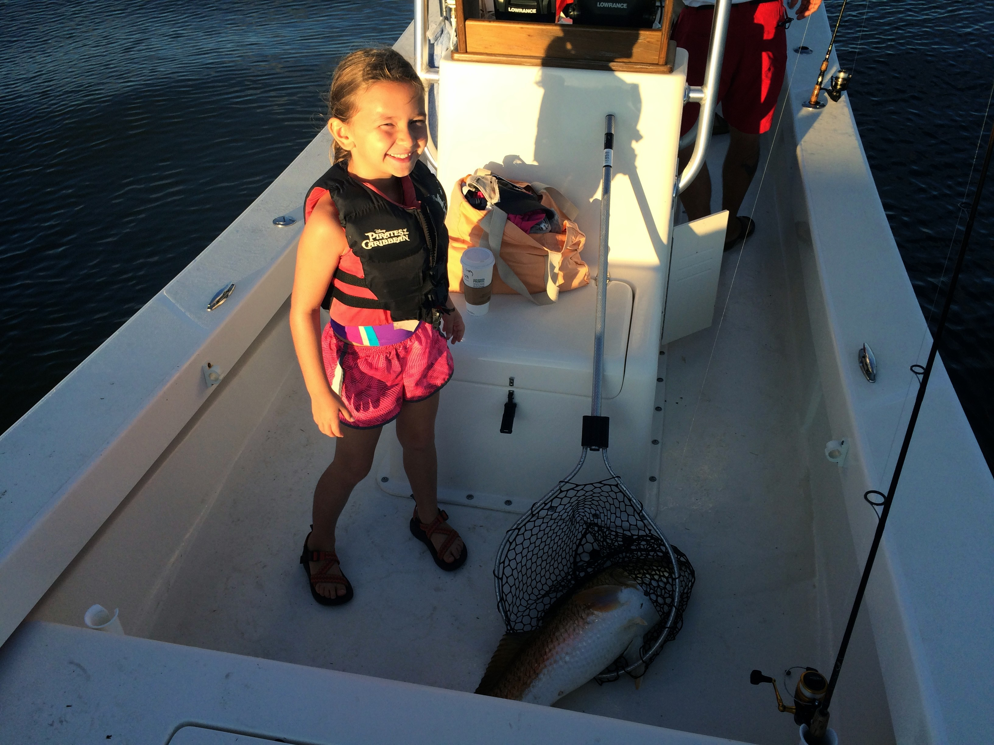fishing charter with kids