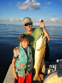 Fairhope fishing with kids