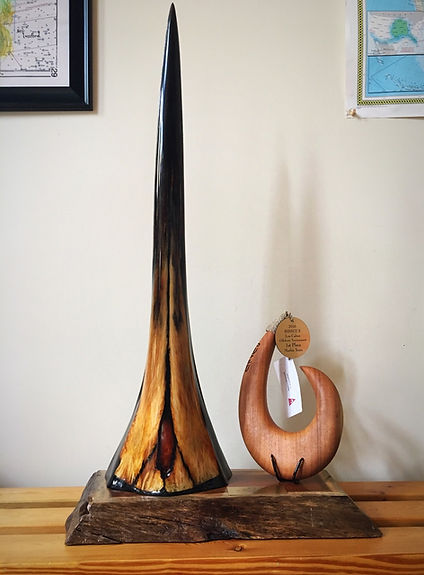 custom made marlin bill trophy
