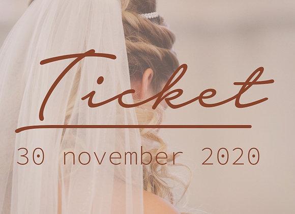 Ticket toegang IK TROUW VAN JOU online 30-11-2020