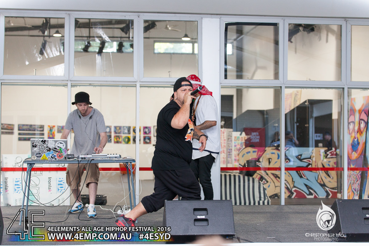 4Elements All age Hip Hop Festival Sydney Bankstown Vyva Entertainment #4esyd Chris Woe (333)