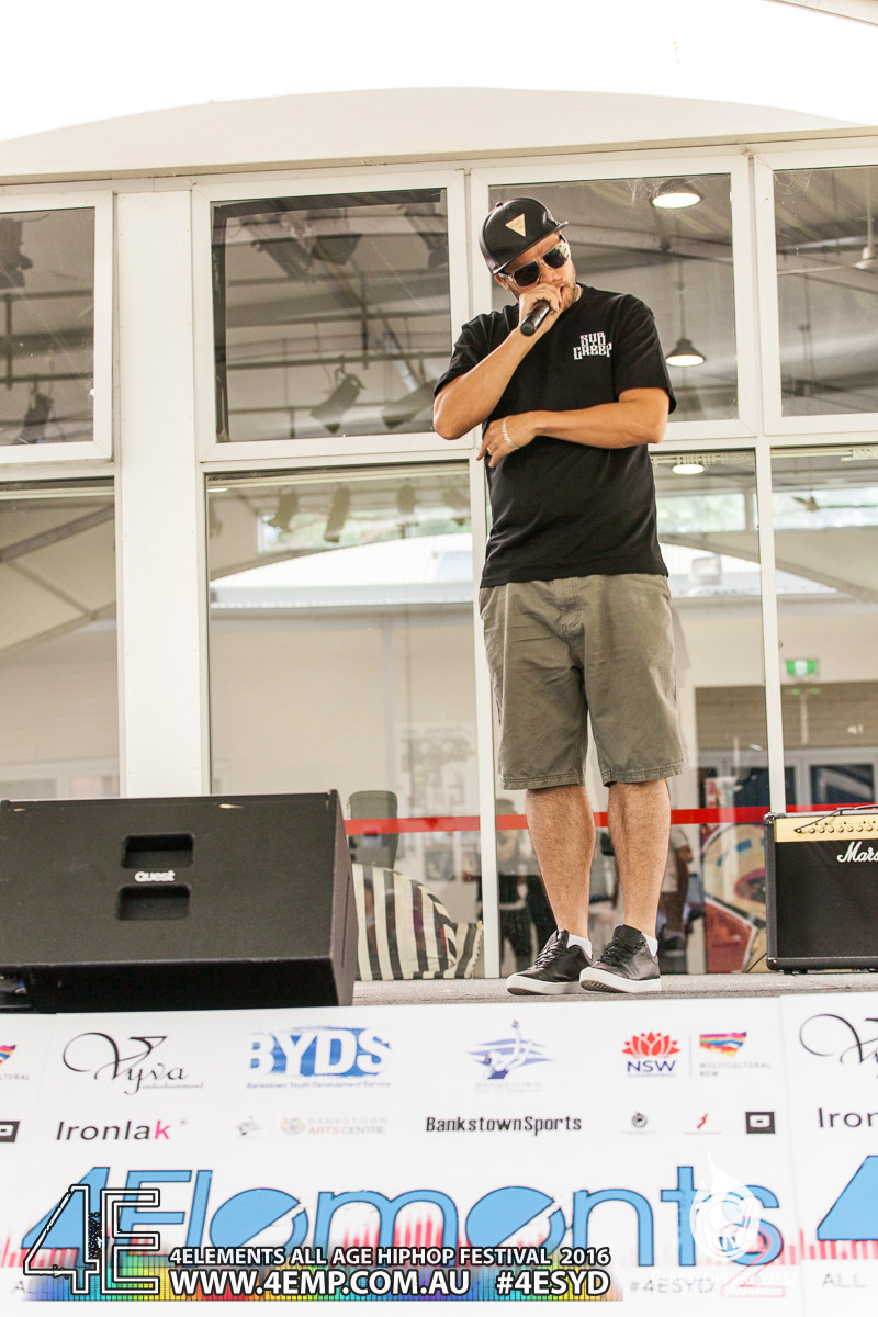 4Elements All age Hip Hop Festival Sydney Bankstown Vyva Entertainment #4esyd Chris Woe (62)