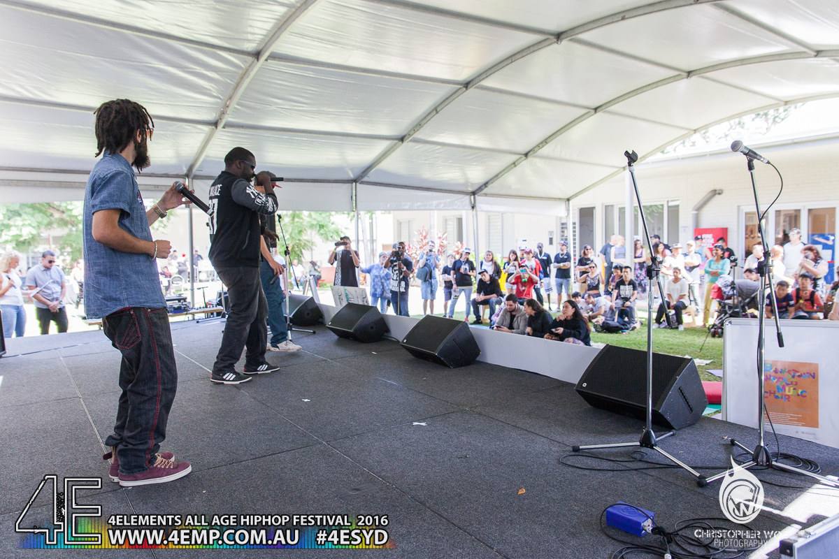 4Elements All age Hip Hop Festival Sydney Bankstown Vyva Entertainment #4esyd Chris Woe (14)