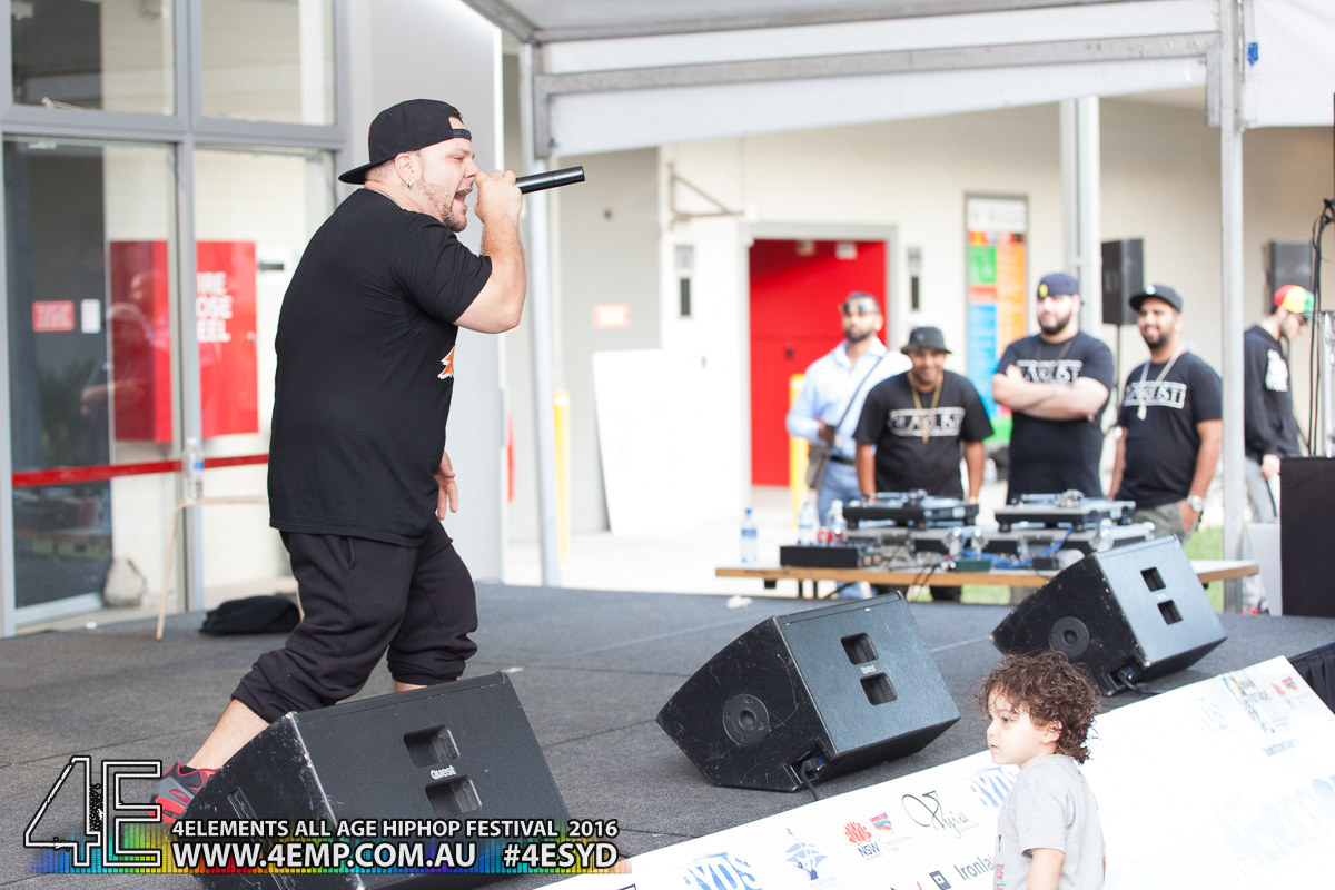 4Elements All age Hip Hop Festival Sydney Bankstown Vyva Entertainment #4esyd Chris Woe (375)