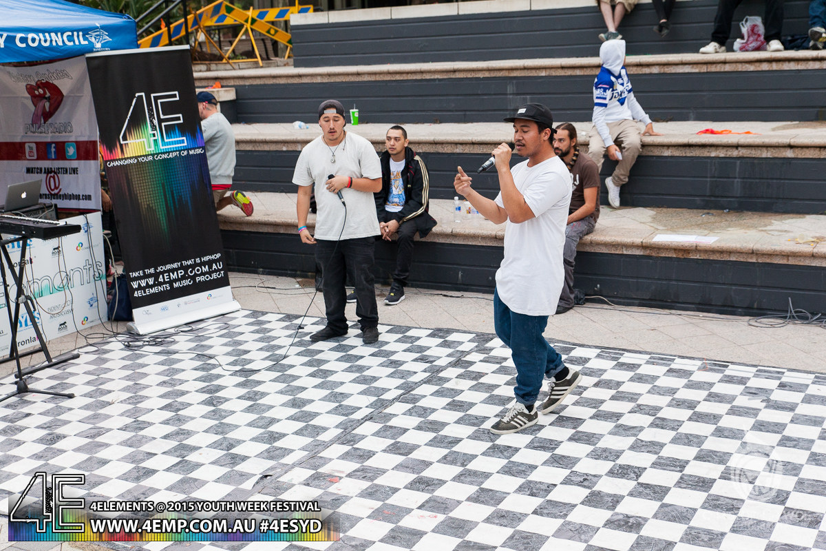 4Elements Youth Week Festival Bankstown 2015 Vyva Entertainment HipHop Sydney (3