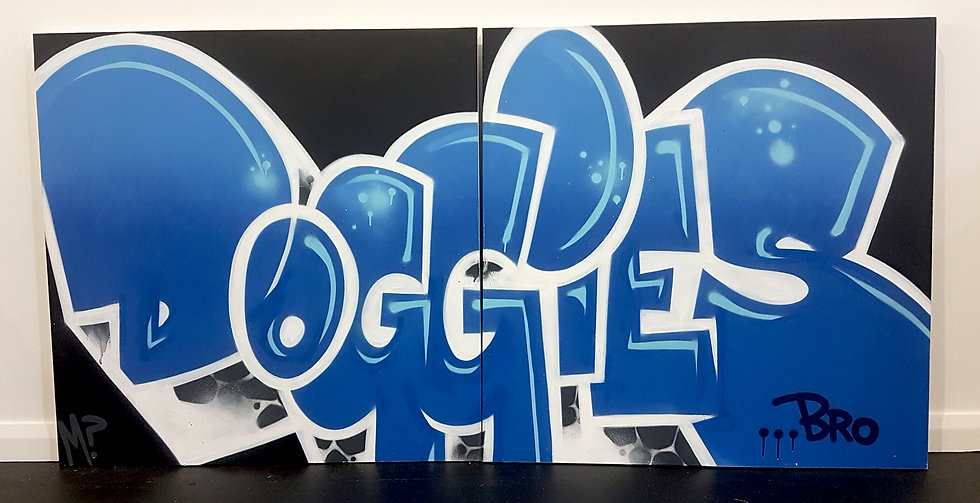 Doggies Canvas