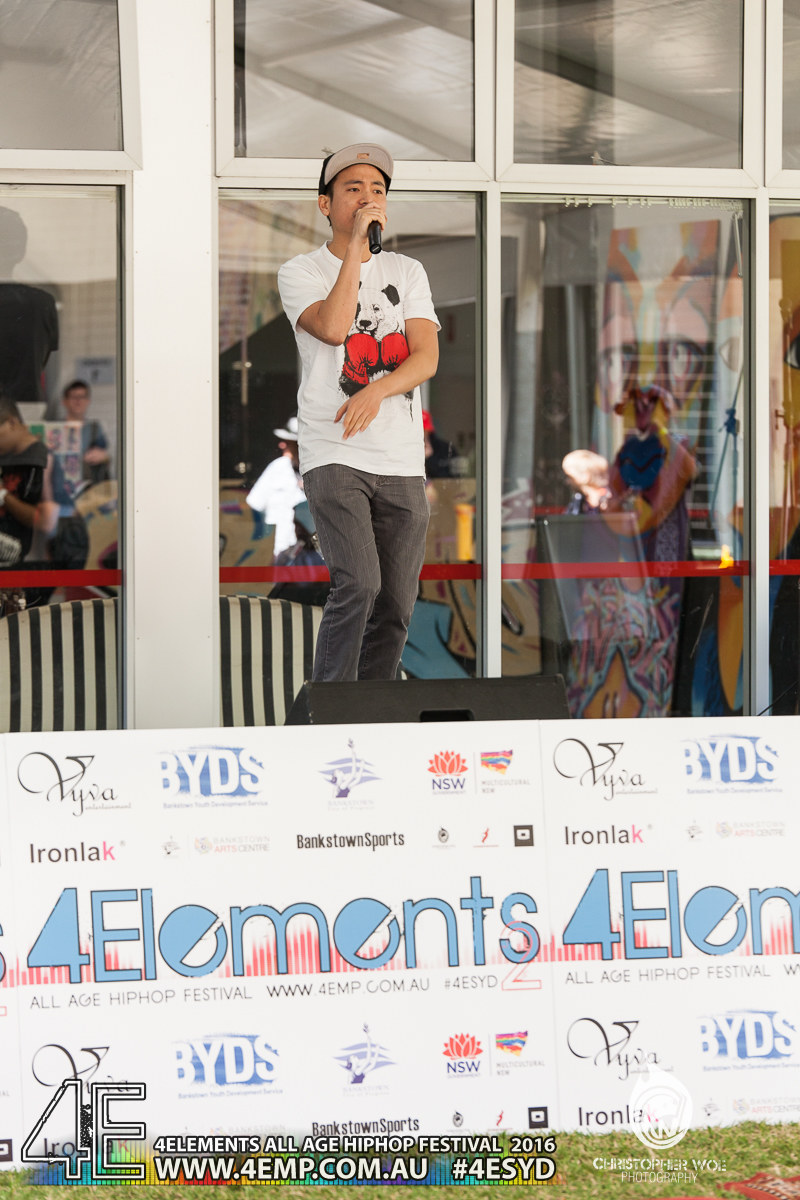 4Elements All age Hip Hop Festival Sydney Bankstown Vyva Entertainment #4esyd Chris Woe (101)