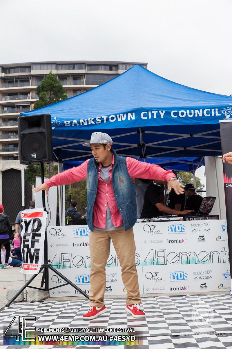 4Elements Youth Week Festival Bankstown 2015 Vyva Entertainment HipHop Sydney (8