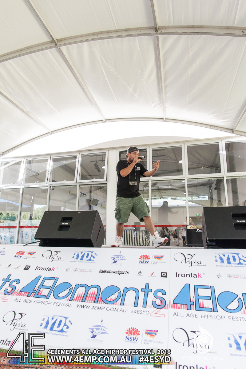 4Elements All age Hip Hop Festival Sydney Bankstown Vyva Entertainment #4esyd Chris Woe (56)